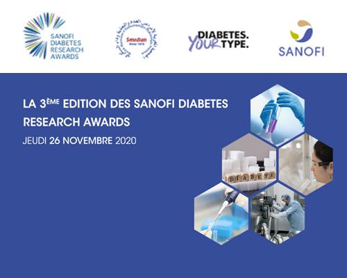 Le Dr Saloua ELAMARI et Dr Soukaina LAIDI décrochent le Prix Sanofi de Recherche en Diabète