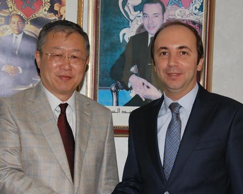 Une réunion pour renforcer la coopération entre la Chine et le Maroc en matière de santé