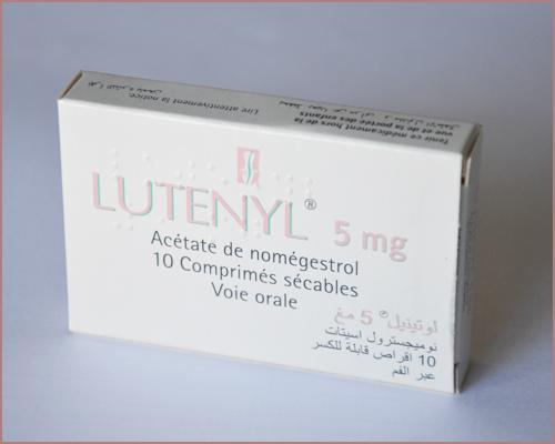 Des cas de méningiome : notifié chez des patients sous Luteran® et Lutenyl®