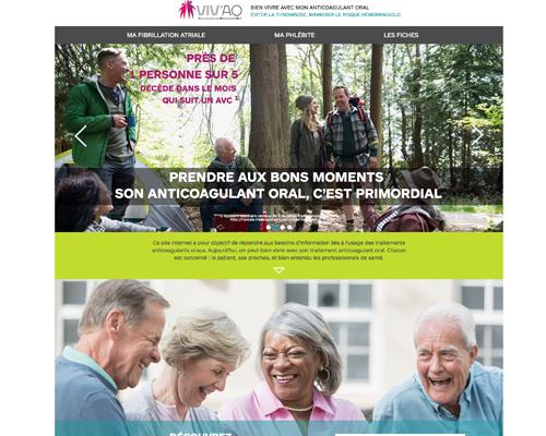"""""""monanticoagulant.fr"""" : un nouveau site web destiné aux malades sous AVK et aux professionnels de santé"""