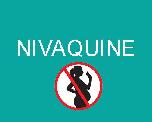 Nivaquine : de nouvelles contre-indications