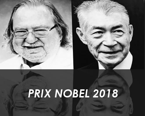 Deux immunologistes décrochent le Prix Nobel de médecine2018