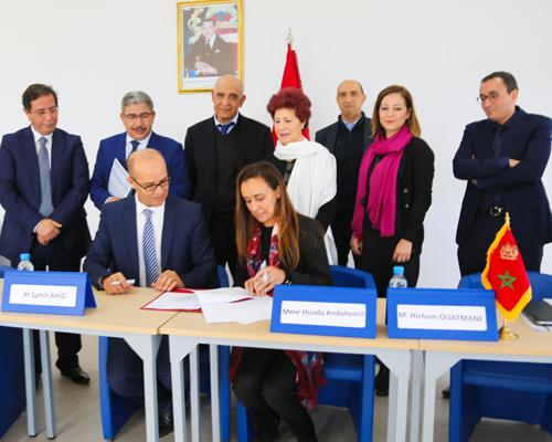 L'UM6SS a signé une convention avec ATLAS PHARM